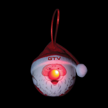 S90114X - Santa LED Ornament