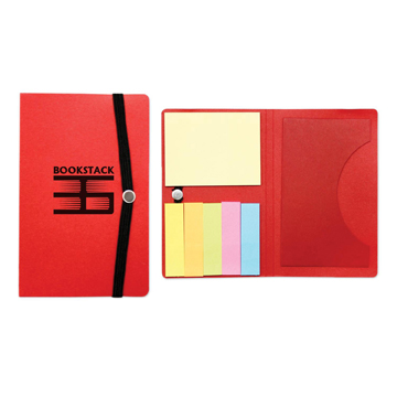 S21169X - Red Sticky Note Card Holder