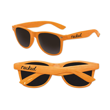 S70704X - Faux Wood Sunglasses Uv