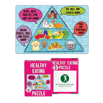 S1698X - 54 Piece Mini Healthy Eating Puzzles