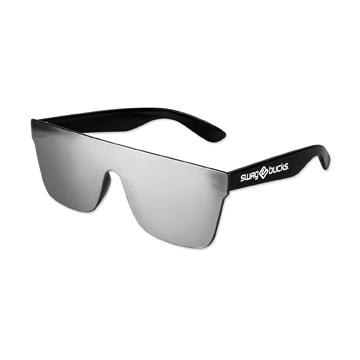 S36056X - Smoke Mirror Lens No Frame Sunglasses