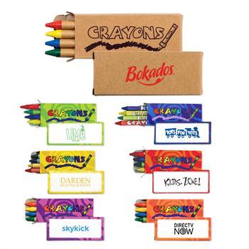ARTCRA - 4 Pack Standard Crayons