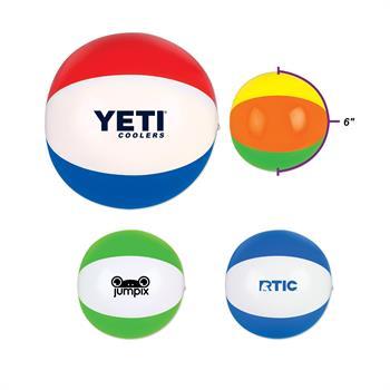 """BBLSIX - 6"""" Beach Ball"""