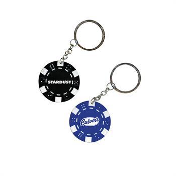 KEY1 - Poker Chip Keychain