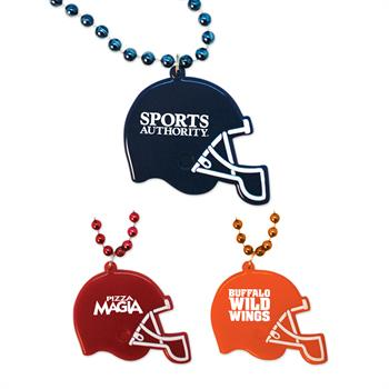 MEDFBH - Football Helmet Medallion Beads