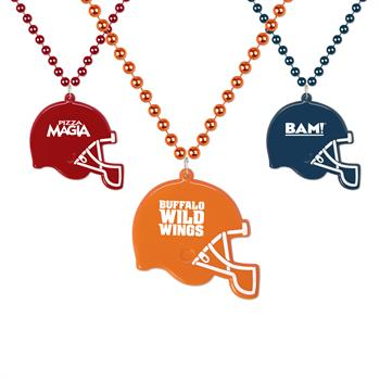 MEDFBH - Football Helmet Medallion Beads
