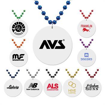 MEDWTB - White Medallion Beads