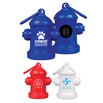 PET2 - Fire Hydrant Bag Holder