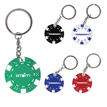 PKRKCH - Poker Chip Keychain