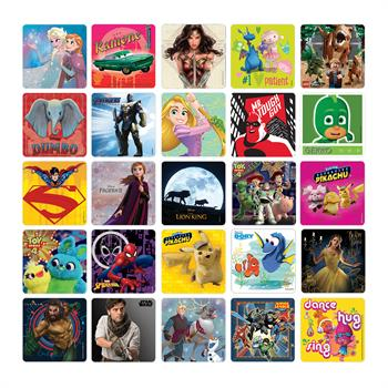 Liscensed Sticker Assortment