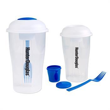 S16238X - 3 Pc Salad Shaker Set Blue