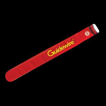 S16272X - Red Flash Slap Bracelet