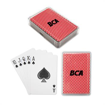 S16293X - Playing Cards in Plastic Case