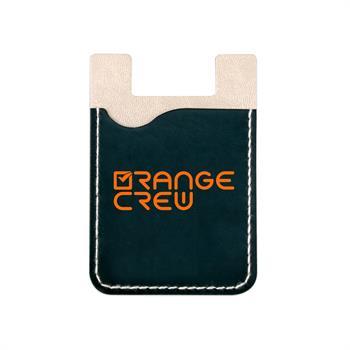S21190X - Black Faux Leather Smart Phone Wallet