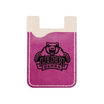 S21191X - Violet Faux Leather Smart Phone Wallet