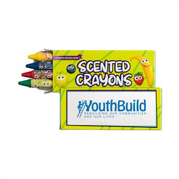 S24084X - 4 Pack Scented Crayons