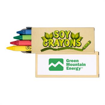 S24086X - 4 Pack Soy Crayons