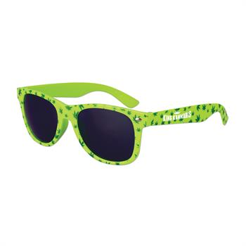S38001X - Cannabis Sunglasses