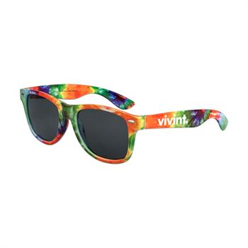 S38021X - Tie-Dye Iconic Sunglasses