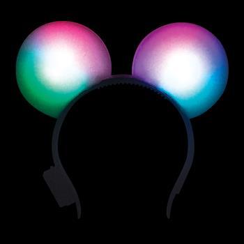 S46108 - Foam Round Ear LED Headband