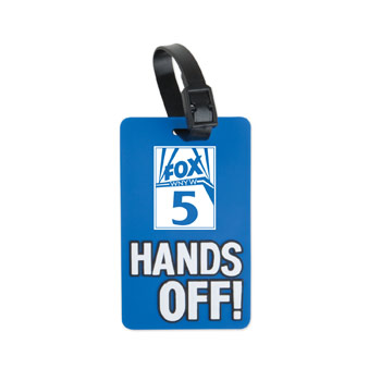 S50063X - Hands Off! Luggage Tag