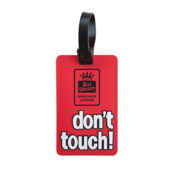 S50064X - Don't Touch Luggage Tag