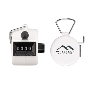 S50109X - White Tally Counter