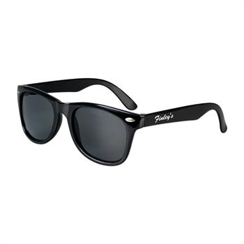 "S53080X - Kid's ""Blues Brother"" Style Sunglasses"
