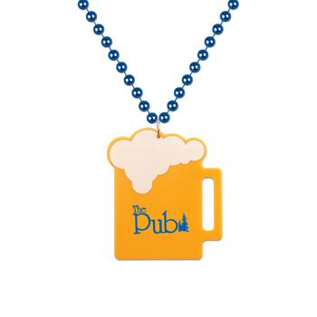 S55059X - Beer Mug Medallion Beads
