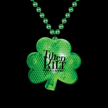 S55102X - Light Up Shamrock Medallion Beads