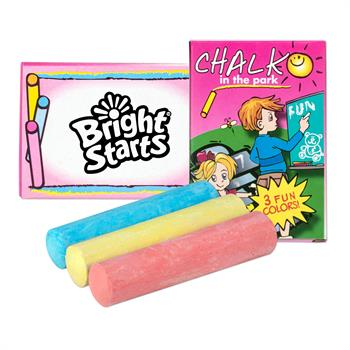 3 PC JUMBO CHALK SET