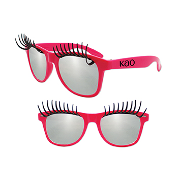 S59149X - Eyelash Glasses Pink