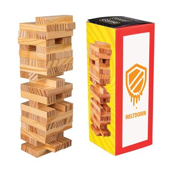 S63047X - Mini Wooden Tower Game