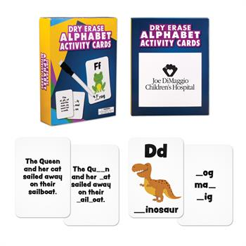 S63048X - Wipe Off Dry Erase Cards - Spelling