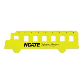 S63055X - Fun School Bus Shaped Ruler