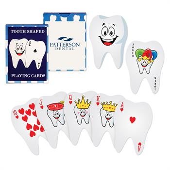 S63069X - Tooth Shaped Playing Cards