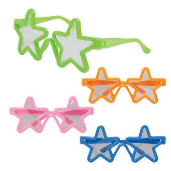 Children's Star Shaped Glasses