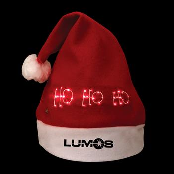 S66002X - Light-Up Santa Hat