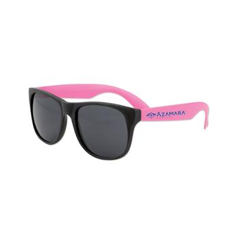 S70172X - Blues Brothers Sunglasses Pink