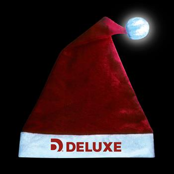 S71272X - Light-Up Santa Hat