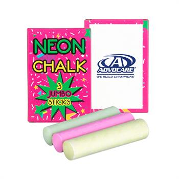 S71401X - 3 Pack Jumbo Neon Chalk