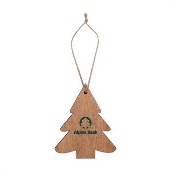 S71413X - Wooden Tree Ornament