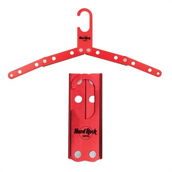 S81043X - Red Metal Foldable Hanger