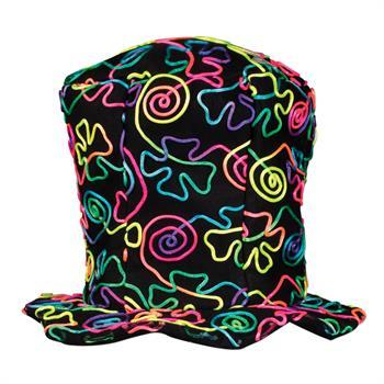S90144 - Neon String Felt Top Hat