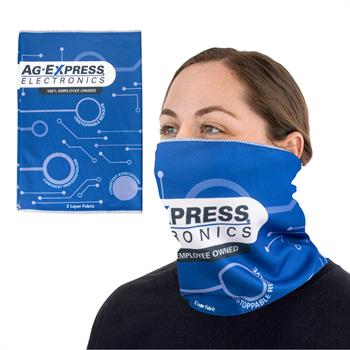 S94071 - 2 Layer Gaiter Headband Mask