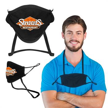 S94072 - Comfort Cloth Mask with Neck Strap