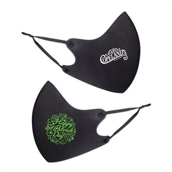 S94098 - HAPPY ST PATRICKS DAY ADJUSTABLE SPORT FACE MASK