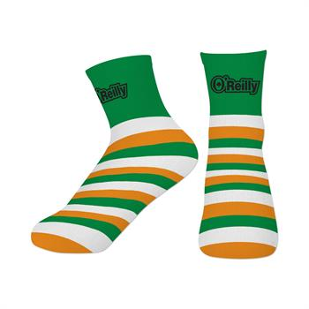 S94107 - IRISH FLAG SHORT CUSTOM SOCKS