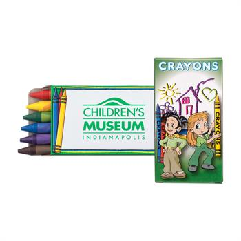S9658X - 6 Pack Kids Crayons