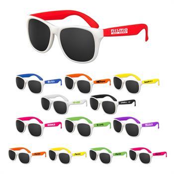 SUNWFC - White Frame Classic Sunglasses